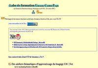 Labo de formation C# .Net