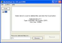 MediaHeal for CD and DVD