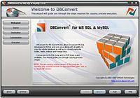 DBConvert for MS SQL & MySQL