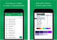 Google Sheets iOS