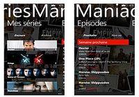 SeriesManiac Windows Phone