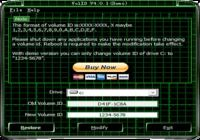VolID (Disk Drives Serial Modifier)
