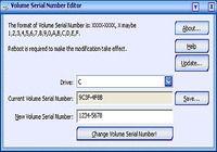 Drive Volume Serial Number Editor