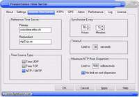 PresenTense Time Server