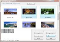 Wondersoft JPG to PDF Converter