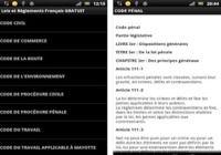 Lois et règlements français Android