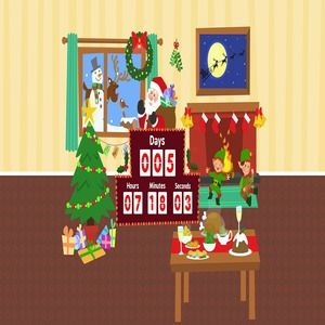 Christmas Countdown Screen Savers.Download Christmas Countdown Screensaver 1 2 For Windows