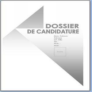 Download Page De Garde Dossier De Candidature For Windows