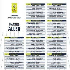 Foot Calendrier Ligue 1.Download Calendrier Officiel Ligue 1 2017 2018 For Windows