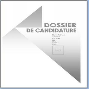 Télécharger Page De Garde Dossier De Candidature Pour