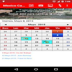 Calendario Android.Download Mexico Calendario 2015 1 10 Android Google Play