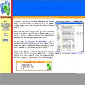 Download GetPicturesList for Windows | Freeware