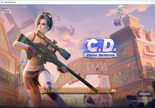 Download Creative Destruction PC Client 3 0 36_20190509 for