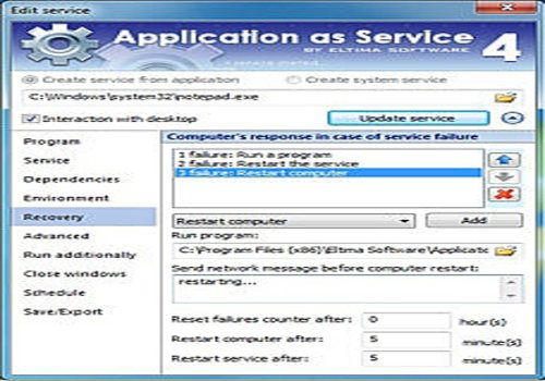 Application as Service
