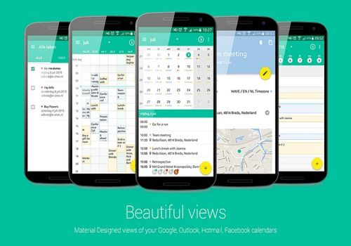Calendrier Outlook Sur Android.Telecharger Wave Calendrier Android Google Play