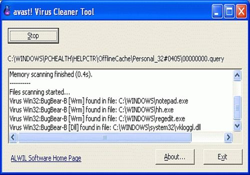 Download avast! Virus Cleaner for Windows | Freeware
