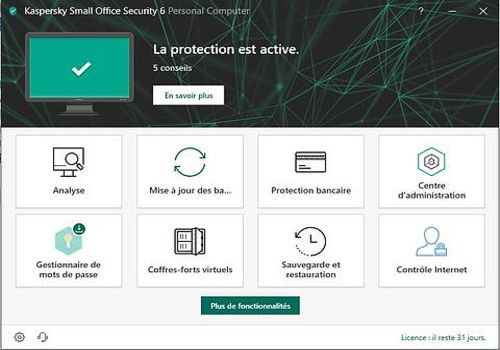 Download Kaspersky Small Office Security 2020 (TP) for