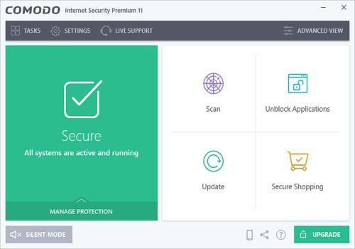 Comodo Internet Security Pro 10