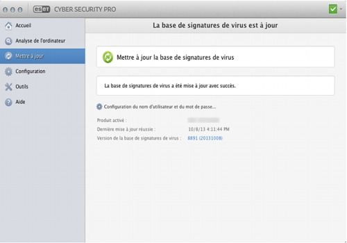 ESET Cybersecurity Pro pour Mac