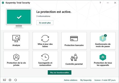Télécharger Kaspersky Total Security 2020 20 0 14 pour