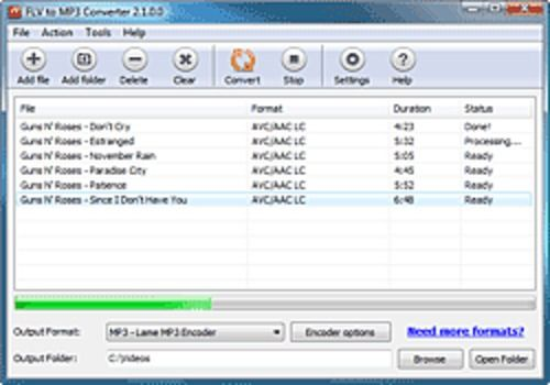 Download FLV to MP3 Converter for Windows | Freeware