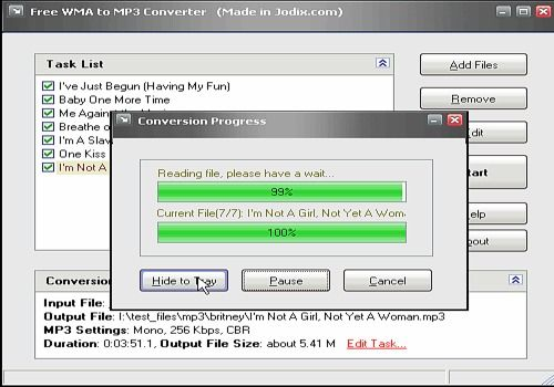 Download Free WMA to MP3 Converter for Windows | Freeware