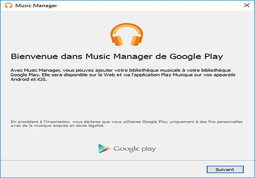 where does google music manager download to