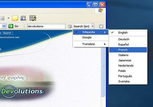 9787dc955555 Descargar Wikipedia Search Bar para Windows   Freeware