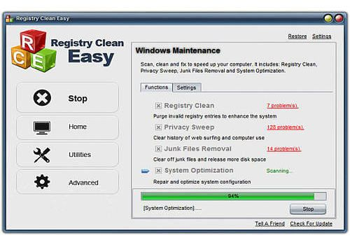 Registry Clean Easy