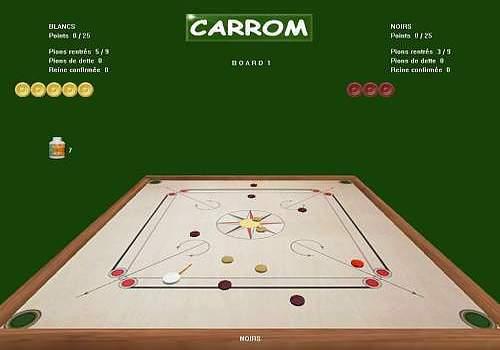 CARROM SIMULATION PC