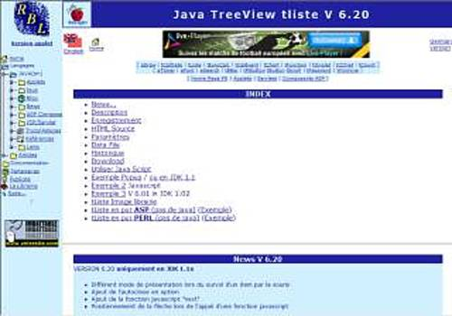 Download tListe TreeView applet for Windows | Freeware