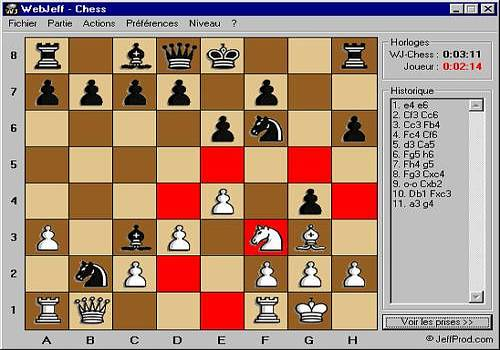 Download WJChess 2D for Windows | Freeware