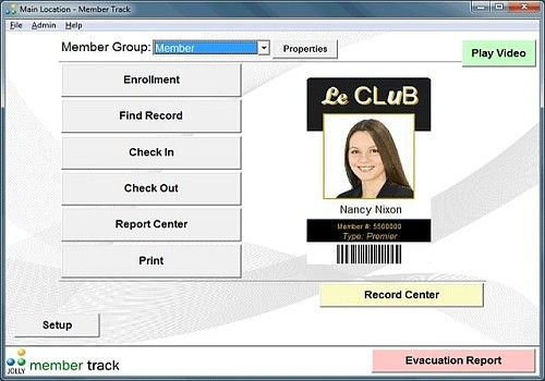 Member Track Member Management Software
