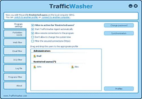 TrafficWasher