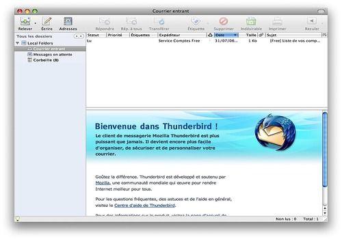 Thunderbird Mac