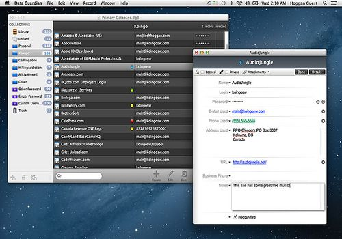 Data Guardian pour Mac
