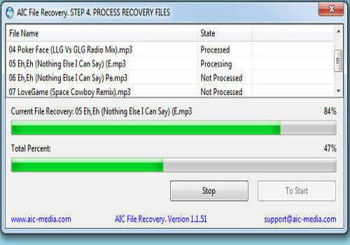 Download AIC File Recovery 1 2 7 for Windows | Freeware