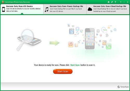 Download Tenorshare iPhone Data Recovery Mac | Shareware
