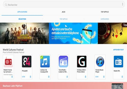Samsung Galaxy Apps Android