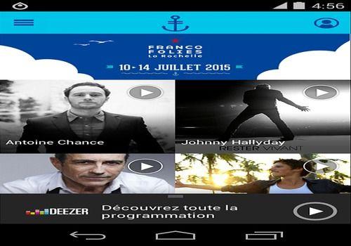 Les Francofolies de La Rochelle Android