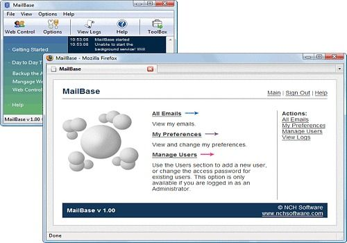 MailBase Email Archiver