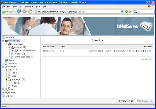 Download hMailServer 5 4 for Windows | Freeware