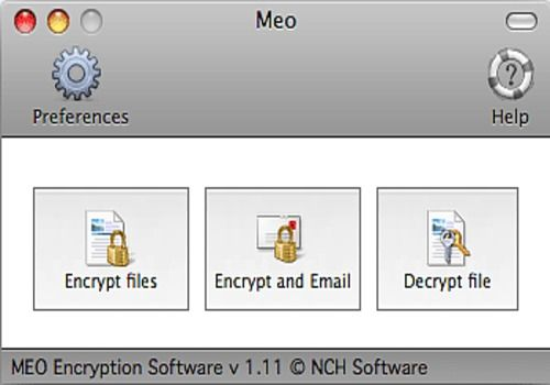 Download MEO File Encryption for Mac | Freeware