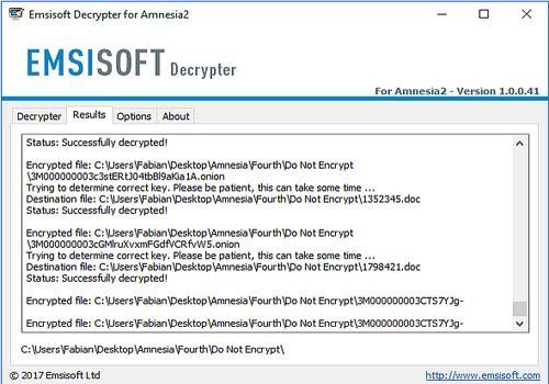 Download Emsisoft Decrypter Tools for Windows | Freeware