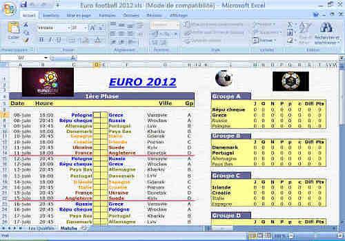 Télécharger EURO FOOTBALL 2012 pour Windows | Freeware