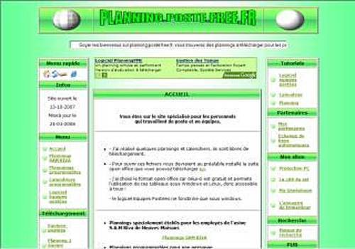 Calendrier programmable
