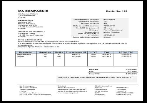 Exemple Facture Auto Entrepreneur Word Bbj45 Napanonprofits