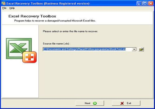 Download Excel Recovery Toolbox for Windows | Shareware
