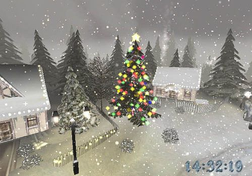 Image De Noel 3d.Telecharger Noel 3d Ecran De Veille Pour Windows Shareware