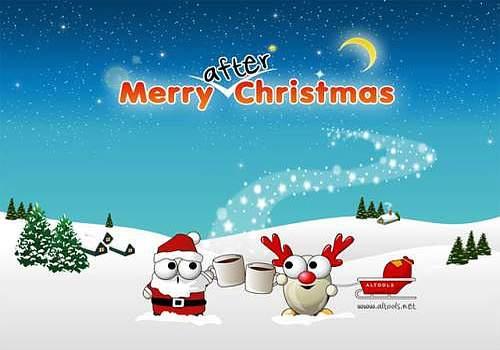 ALTools Christmas Desktop Wallpaper